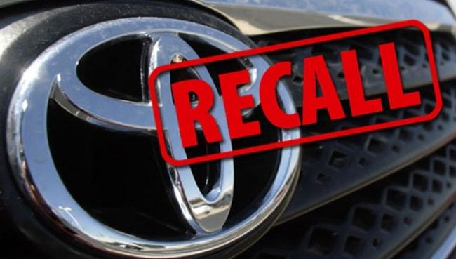 Toyota convoca novo recall