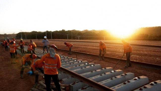 Empresas estudam criação de ferrovia na América do Sul