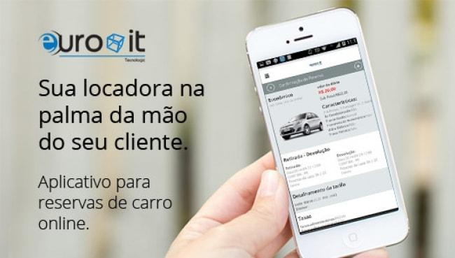 EuroIT Lança aplicativo Celular para Reserva de Veículos