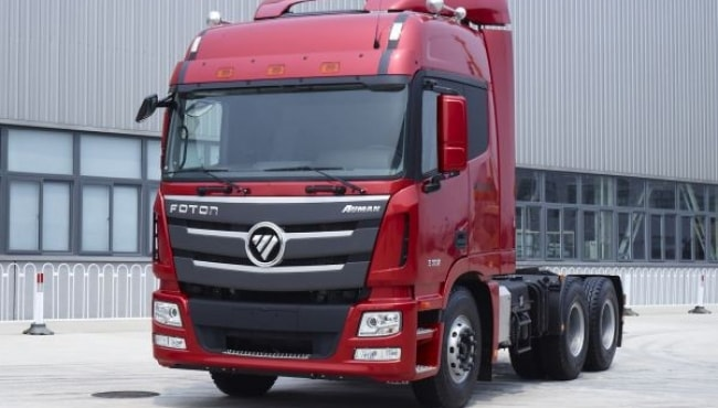 Foton já vende 1º caminhão a ser feito no Brasil