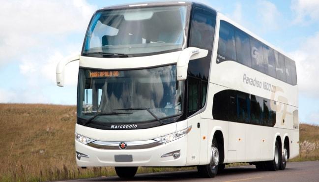 Marcopolo exporta ônibus de luxo de dois andares para Angola