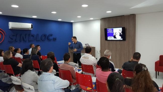 Curso marca inicio de parceria com Senac