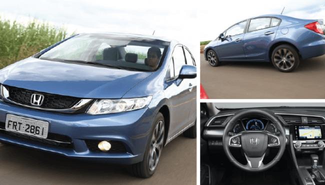 Honda Civic ganha nova geração; modelo chega ao Brasil em 2016