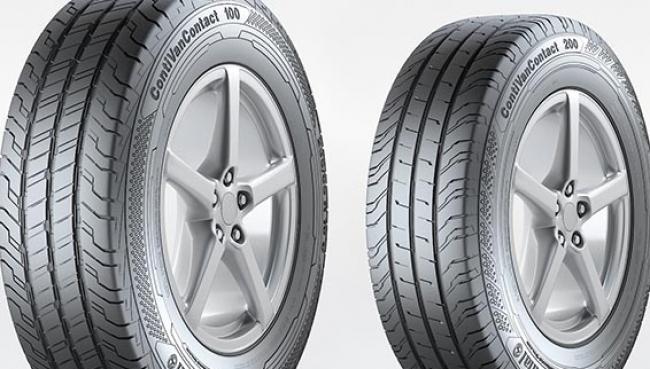 Continental lança pneus para comerciais leves