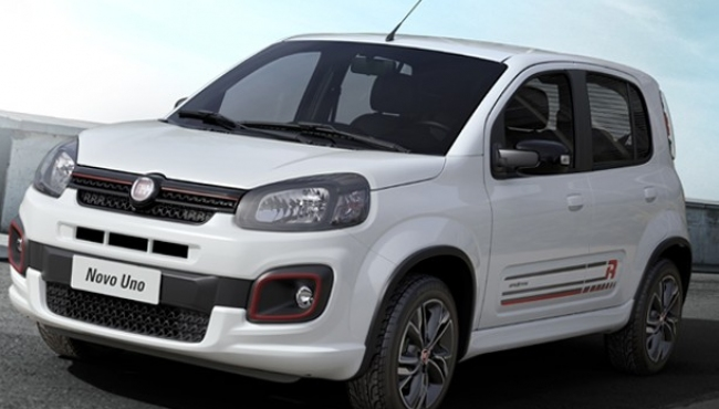 Fiat confirma Uno com motor 1.0 de 3 cilindros para linha 2017