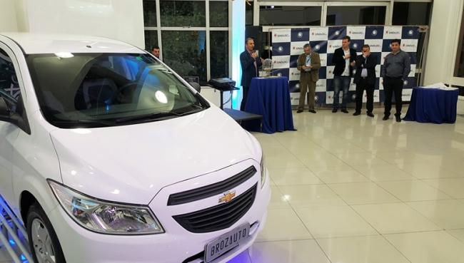 Paulo Kipper é o vencedor da promoção do Onix em parceria com a Brozauto
