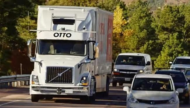 Caminhão sem motorista leva carga de cerveja nos EUA