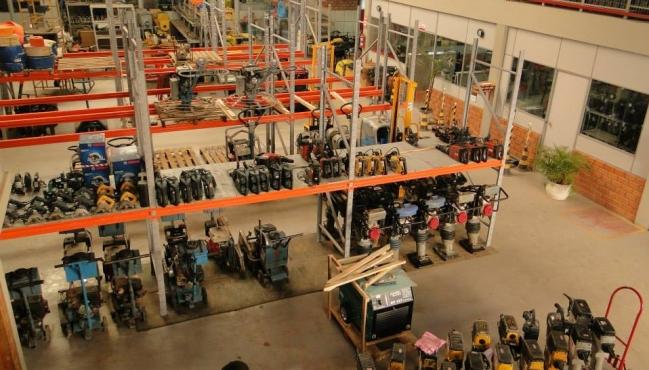Locação  de equipamentos para construção se adapta a crise do setor