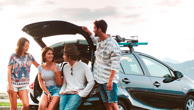 Alugar automóveis nas férias conquista brasileiros