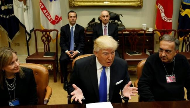 Trump promete incentivos para montadoras americanas