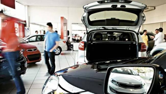 Vendas de veículos crescem 4,2% no primeiro semestre