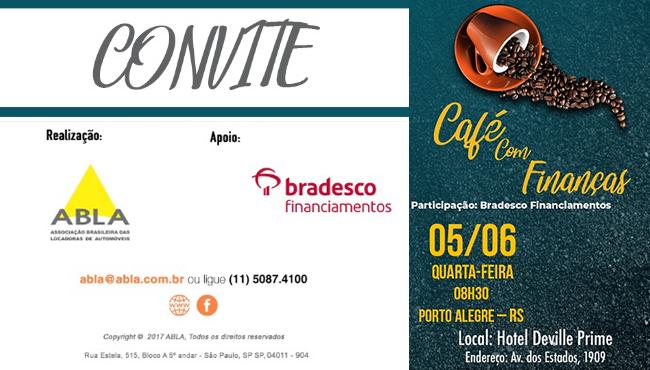 Convite especial: Café com Finanças